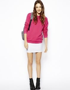 love this look..the pink