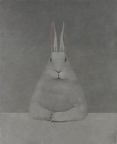 Shao Fan, Rabbit at Desk
