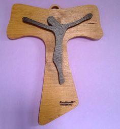 Tau di S. Francesco d'Assisi (cod. REL001) di Macchiavelli Arte Legno su DaWanda.com