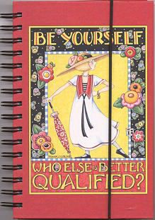 Mary Engelbreit Be Yourself Journal