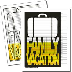 Family Vacation Savings or Payoff Chart – Debt Free Charts National Debt Relief, Vacation Savings, Sinking Funds, Household Budget, Budget Binder, Family Budget, Free Charts, Debt Free, Ways To Save Money