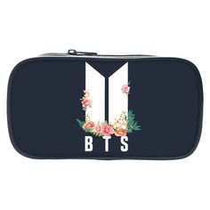 Perfect Storage For Your BTS Pen; Kids Pencil Box, High School Supplies, Bts School, Diy Bag Designs, Army Print, Discount Online Shopping, Pen Collection, Kawaii Stationery, Kpop Merch