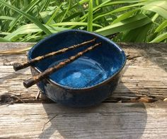Your place to buy and sell all things handmade Rice Bowls, Chopsticks, Stoneware Clay, Handmade Ceramic, Ceramic Pottery, Noodle, Mud, Serving Bowls, Glaze