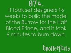 #hpotterfacts 074. wowwww.