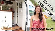 At the Colorado Vanlife Gathering in July of 2019 I meet Kristin and get to tour her beautiful new Ford Transit. Kristin is an avid baker and has made room f. Retro Trailers, Travel Trailers, Camper Trailers, Van Camping, Camping Stuff, Camping Outdoors, Camping Ideas, Camping Hacks, Enclosed Trailer Camper