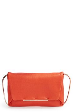 Lanvin 'Mai Thai' Lambskin Leather Clutch available at #Nordstrom