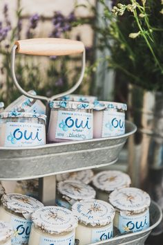 8107cb95b1c Say Oui to the perfect start to an even more perfect bridal shower. Here we