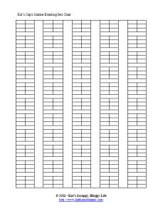 Free Download - Printable Inventory Checklists so that you can keep track of what you have when shopping.  Thanks so much!