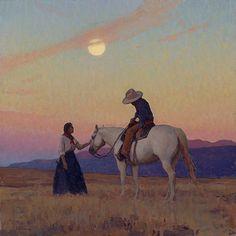 Glenn Dean, Evensong, huile, 32 x Scottsdale Art Auction - New Ideas Painting Inspiration, Art Inspo, Westerns, Southwest Art, Le Far West, Western Art, Horse Art, New Artists, Art Auction