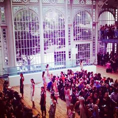 Julien Macdonald SS15 show at the a Royal Opera House, London Fashion Week