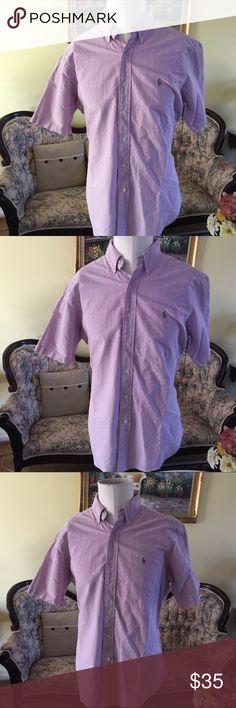 Men's Ralph Lauren size L Gently used Ralph Lauren Shirts Dress Shirts