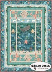 Under The Ocean Blue Free Quilt Pattern by Wilmington Prints