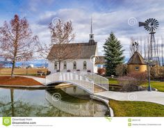 Small Wedding Chapel In The Country Royalty Free Stock Images ...