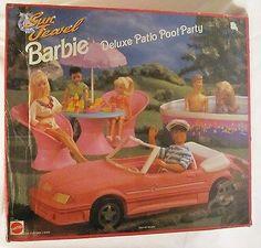 Barbie Sun Jewel Deluxe Patio Pool Party Playset
