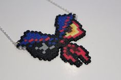 Clothing is Sin. Man's original Sin Necklace by Retr8Bit on Etsy