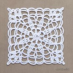 Crochet lace motifs free patte