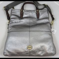 Please help!! I need this in gunmetal or pewter Fossil explorer foldover crossbody in gunmetal or pewter Fossil Bags Satchels