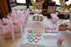 mesa de dulces estilo vintage para boda - Buscar con Google