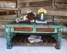 El Dorado Coffee Table - Sofia's Rustic Furniture