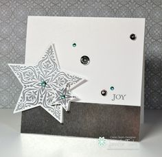 Jen Timko - FMS150 - Bright Joy: Stampin' Up! CAS Christmas