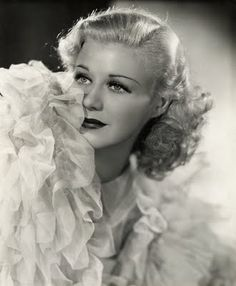 ...in 1930s Hollywood Glamour with Ginger Rogers.
