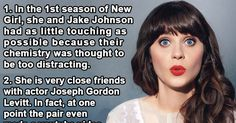21 Things Most People Don't Know About Zooey Deschanel.