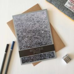 Silver Fox Greeting Card - with Grey Harris Tweed by Juniper & Jane Textiles Scottish Greetings, Harris Tweed, Fox, Greeting Cards, Silver, Textiles, Grey, Gray, Money