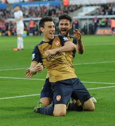 Arsenal kept the tempo up as they sought to put the game to bed and they had their reward in the 68th minute when Koscielny took advantage of a Fabianski error to force the ball in from close range. Swansea City v Arsenal. 0-3. Sat 31st Oct 15.00 Liberty Stadium.