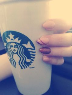 Nails and coffee