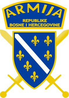 Seal of the Army of the Republic of Bosnia and Herzegovina. Tumblr Iphone, Military Gear, Serbian, The Republic, Bosnia And Herzegovina, Postage Stamps, Growing Up, Logos, Historia