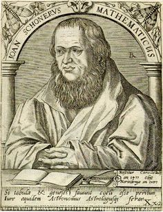 On January 16, 1477, German polymath Johannes Schöner was born. He was a priest, astronomer, astrologer, geographer, cosmographer, cartographer, mathematician, globe and scientific instrument maker and editor and publisher of scientific tests.