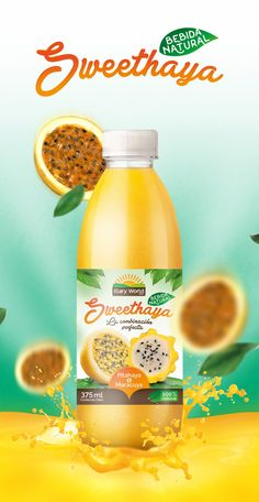 Sweethaya Natural Juice (Concept) on Packaging of the World - Creative Package…
