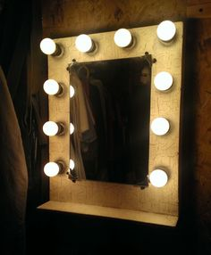 Osb Board, Cream Paint, Theatre Makeup, Upcycle, Interiors, Mirror, Architecture, Design, Home Decor