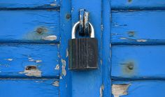 Blue locked shutters in Italy A Year Ago, Shades Of Blue, Italy, Shutters, Twitter, Blinds, Window Shutters, Italia