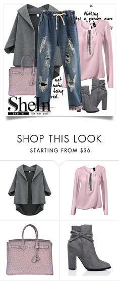 """""""Untitled #152"""" by ermina996 ❤ liked on Polyvore featuring Hermès and WithChic"""