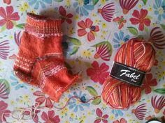 I haven't knitted socks in awhile and these will be mine! 'Short Summer Fables' is what I have named them!!