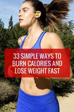 curn calories and lose weight fast