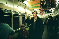 meet the man who photographed david bowie for 40 years | a day in kyoto 3-hankyu train,1980, Masayoshi Sukita