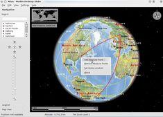 Like Google Earth. Linux, Mac, Windows.
