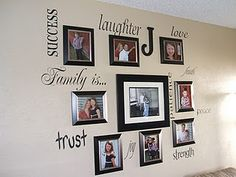 88 Best Family Wall Collage Ideas Images Diy Ideas For Home