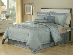 Baltic Linen Miraval Sea Glass Comforter Set, 7-Piece, King by BALTIC LINEN, http://www.amazon.com/dp/B008C001DG/ref=cm_sw_r_pi_dp_KuhRqb1T3QF9C