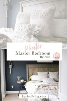 A Winter Master Bedroom Refresh with Bed Bath and Beyond Canada