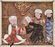 Abû Zayd pleads before the Qadi of Ma`arra Syria 1334. paper