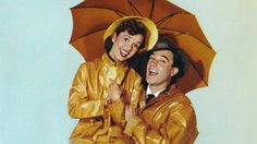 """Debbie Reynolds and Gene Kelly in """"Singin' in the Rain"""" will be part of a 24-hour film tribute to Reynolds on TCM on Jan. 27. (Movie Poster Image Art / Getty Images)"""