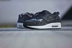 5497c36e4e4f25 Nike Wmns Air Max 1 Print Dark Grey - 528898-001 Air Max 1