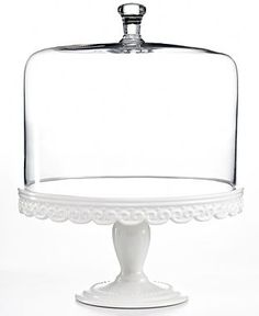 Martha Stewart Collection Domed Cake Stand Collection, Only at Macy's - Serveware - Dining & Entertaining - Macy's