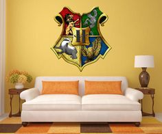 Harry Potter Decals Harry Potter Decal Mural Hogwarts Decals