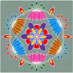 Rangoli in front of the house is the first sign of upcoming festival! Here are some pongal rangoli designs that will light up your house this pongal season.