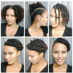 Protective style... I love this!!!