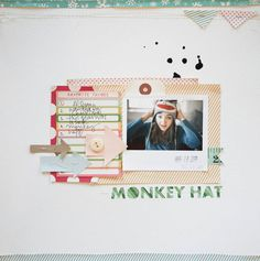 Marcy Penner created this layout for Summer CHA 2012